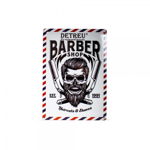 Detreu Barbershop Blechschild #6