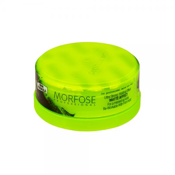 Morfose - Matte Stying Wax - Ultra Strong Grün - 150 ml