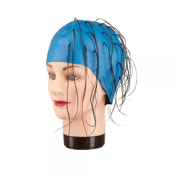 Fripac Gummi Strähnenhaube - blau
