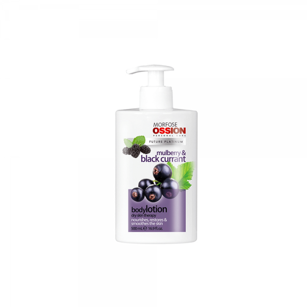 Ossion Hand & Body Lotion Mulberry Black Currant - 500 ml