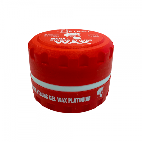 Detreu - Mega Strong Gelwax - Platinum - 140 ml