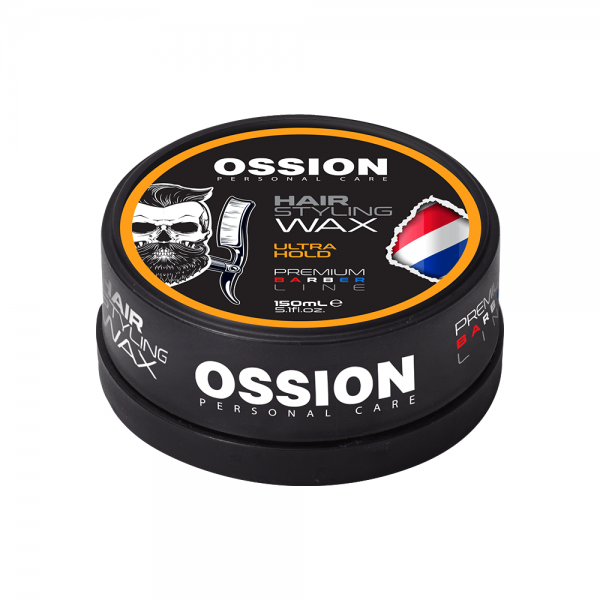 Ossion Premium Barber Line - Hair Styling Wax - Ultra Hold - 150 ml