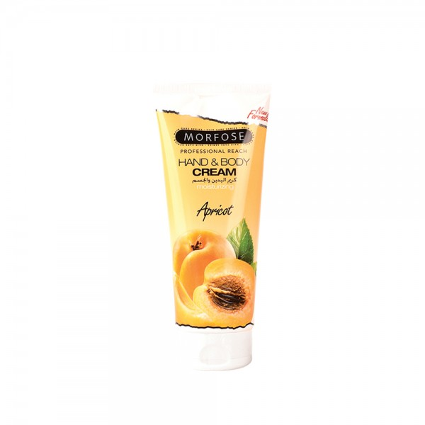 Morfose Hand- & Bodycreme Apricot (200 ml)