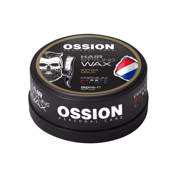 Ossion Barber Line Hair Styling Wax - Extra Hold (150 ml)