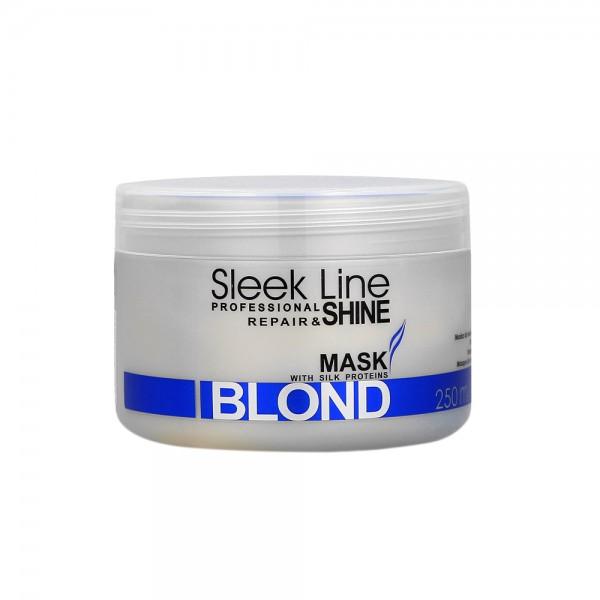 Stapiz Sleek Line No Yellow Silber Maske (250 ml)