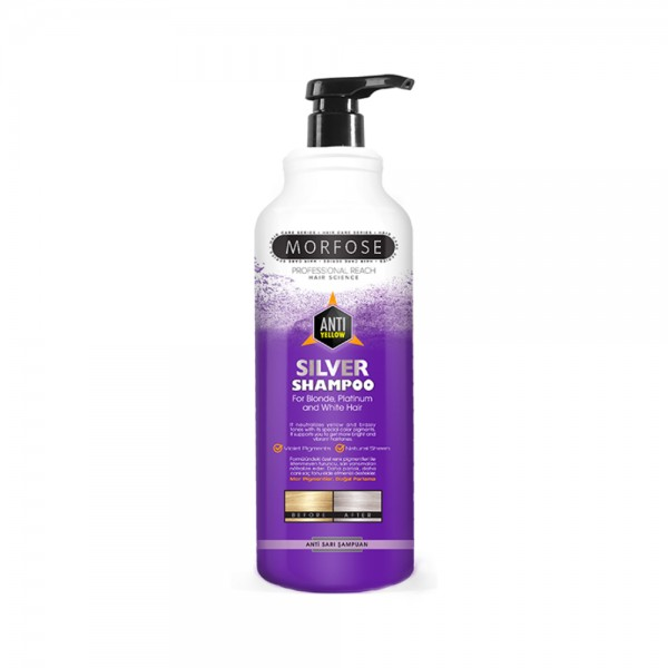 Morfose No Yellow Silber Shampoo (1000 ml)