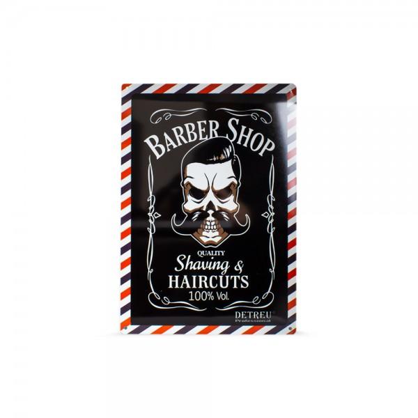 Detreu Barbershop Blechschild #4