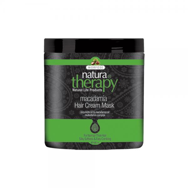 Morfose - Natura Therapy - Macadamia & Creme Maske - 500 ml