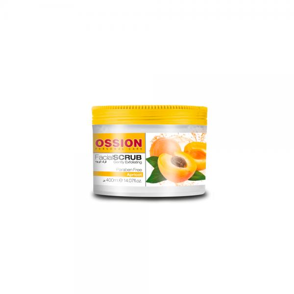 Ossion Hand & Body Scrub Aprikose - 400 ml