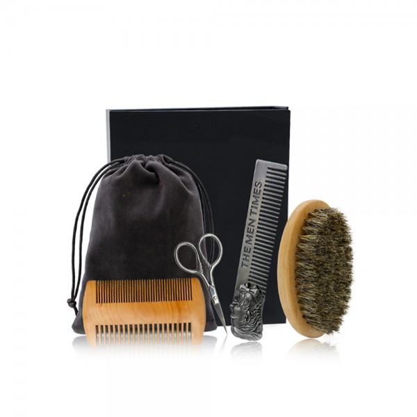 Detreu Beard Brush Set 4er