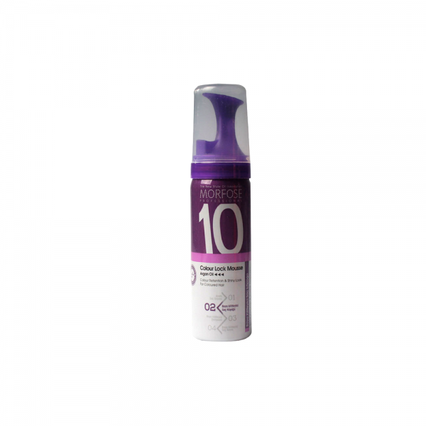 Morfose 10 Colour Lock Mousse - 6 x 50 ml