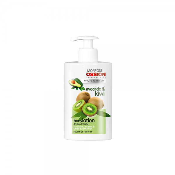 Ossion Hand & Body Lotion Avocado Kiwi - 500 ml