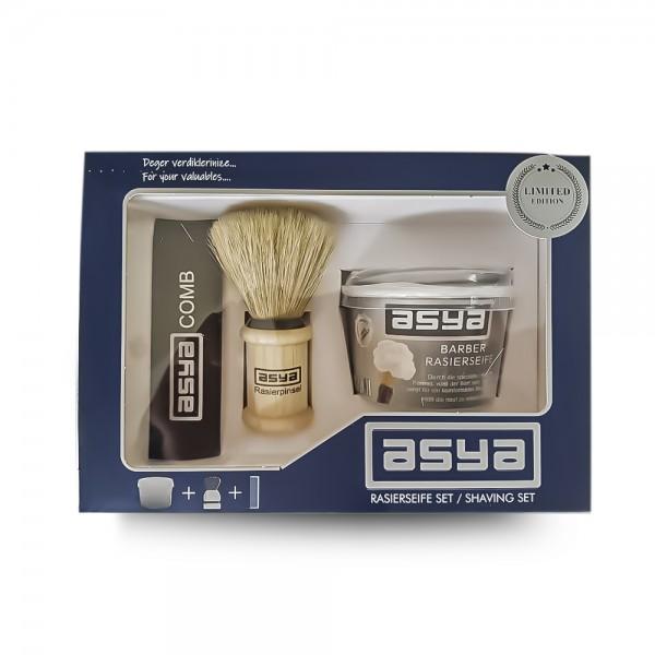 Asya Shaving Brush Set (3-teilig)