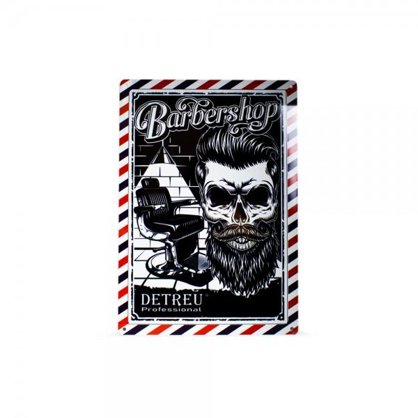Detreu Barbershop Blechschild #5
