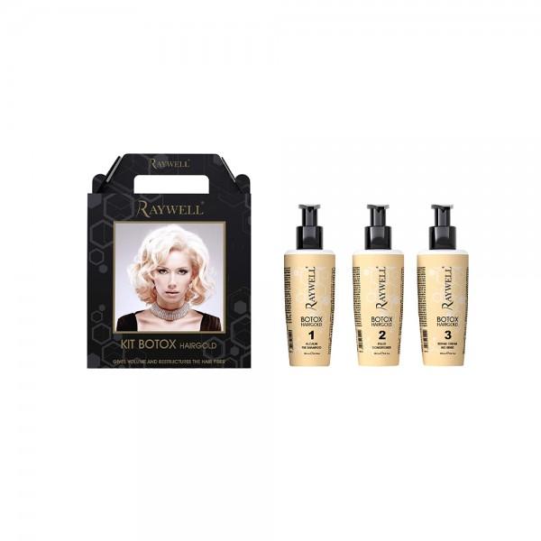 Raywell Botox Set Hairgold (3x 150ml)