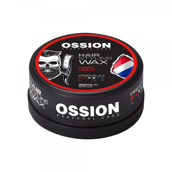 Ossion Barber Line Hair Styling Wax - Mega Hold (150 ml)