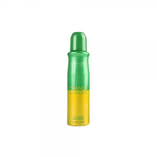 Morfose - Change Color Spray - Green-Yellow - 150 ml