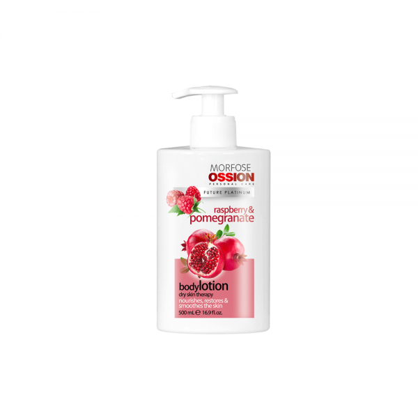 Ossion Hand & Body Lotion Raspberry Pomegranate - 500 ml