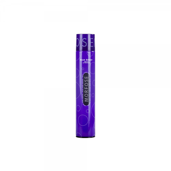 Morfose - Haarspray - Mega Strong - Lila - 400 ml