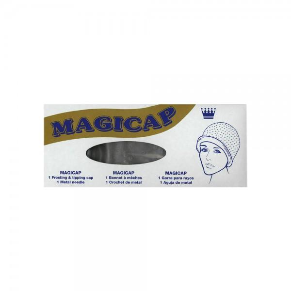 Magicap Silikon Strähnenhaube + Metal Strähnennadel