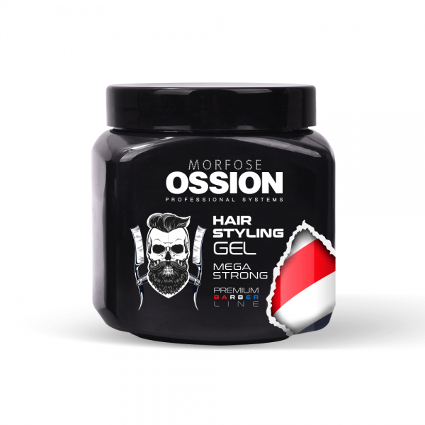 Ossion Premium Barber Line - Gummy Hair Gel 750 ml
